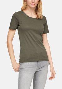s.Oliver - Basic T-shirt - khaki - 3