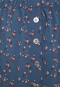 ONLY - ONLNOVA LUX BUTTON SKIRT - A-line skirt - bering sea - 4