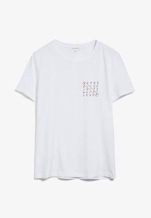 MARAA HUMAN - Print T-shirt - white