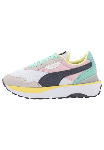 CRUISE RIDER SILK ROAD - Sneakers basse - white/pink lady