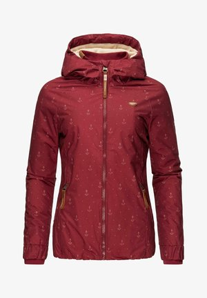 DIZZIE MARINA - Winter jacket - wine red