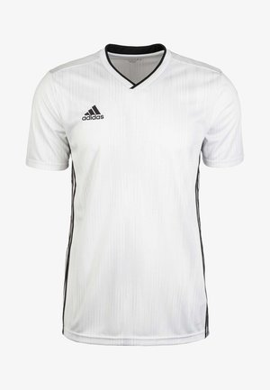 TIRO - Print T-shirt - white/black
