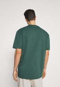 Kronstadt - MARTIN RECYCLED 2 PACK - Basic T-shirt - navy/olive - 2