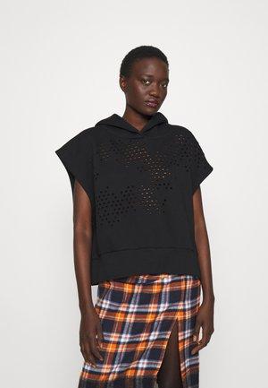 NANCY - T-shirt print - black