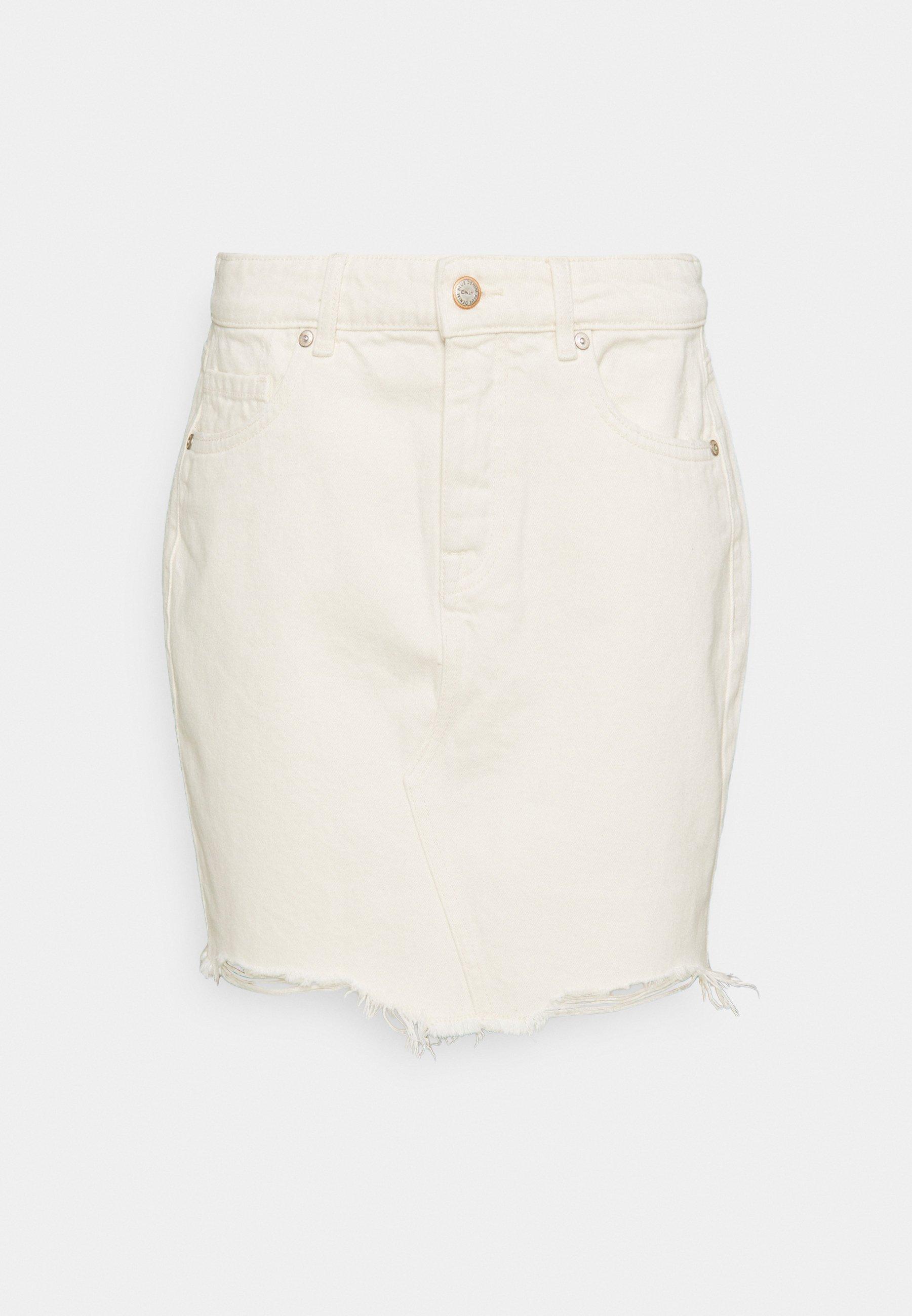 Women ONLSKY SKIRT EDGE  - Mini skirt