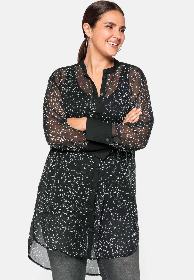 Sheego - Button-down blouse - nicht definiert