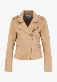 Rino&Pelle - Faux leather jacket - tan - 3