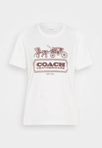 HORSE AND CARRIAGE  - Print T-shirt - white