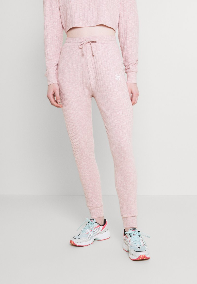 SIKSILK - LOUNGE PANTS - Tracksuit bottoms - pink