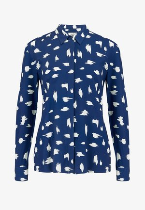 JOY IKAT ANIMAL - Button-down blouse - blue