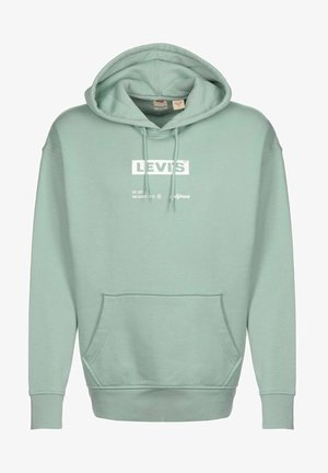 T3 RELAXD GRAPHIC - Hoodie - boxtab text hoodie blue surf