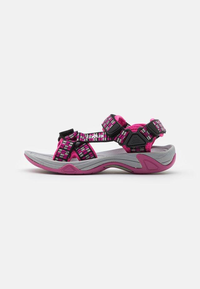 KIDS HAMAL HIKING UNISEX - Sandalias de senderismo - hot pink