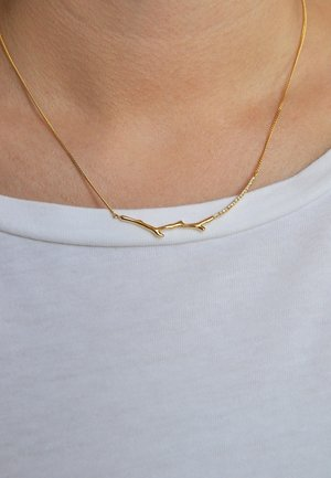 SUPREME DIAMOND NECKLACE - Necklace - 18k yellow gold vermeil