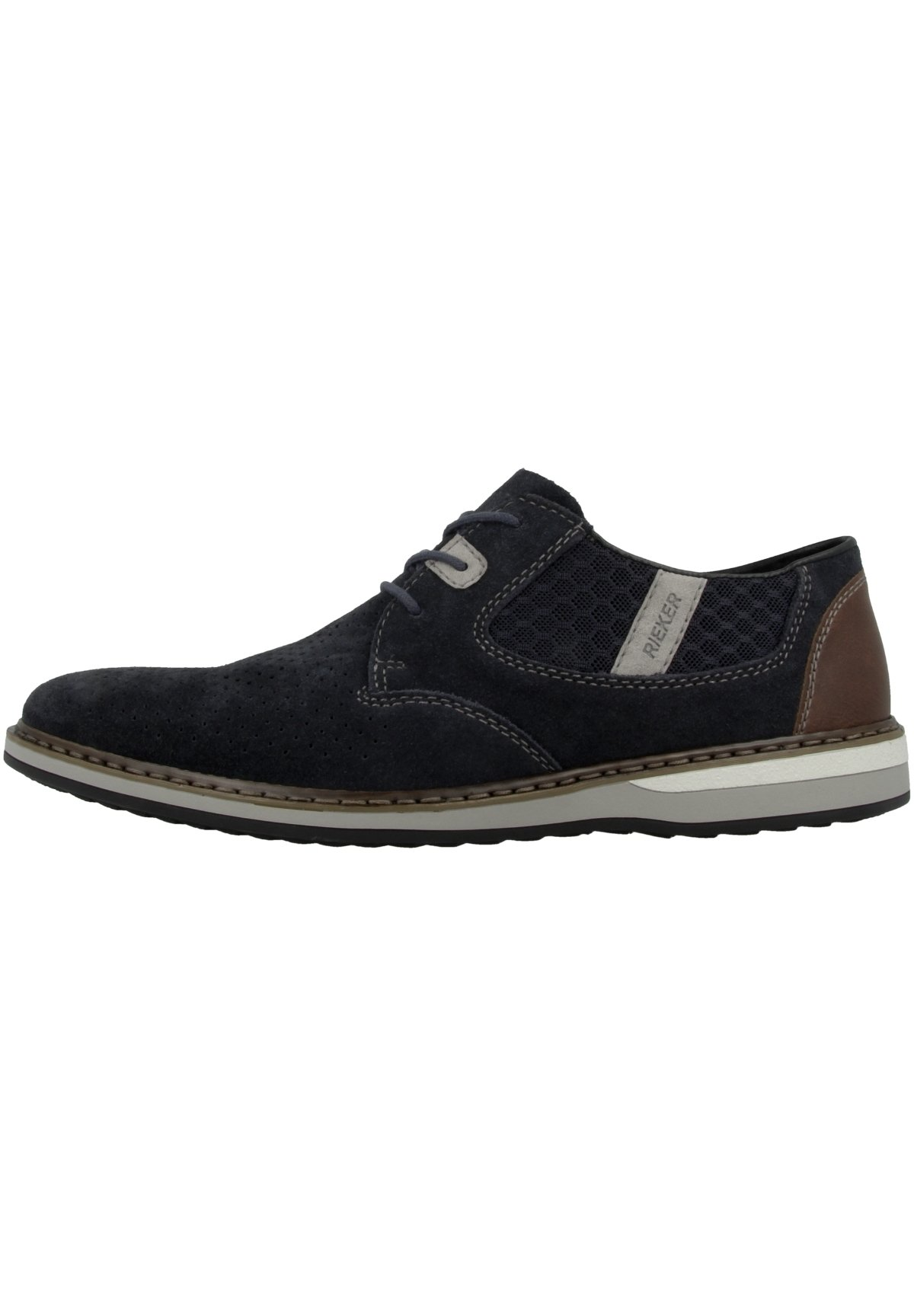 Homme Chaussures à lacets - pacific-navy-dust-brown
