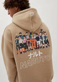 PULL&BEAR - NARUTO - Sweatshirt - mottled beige - 3