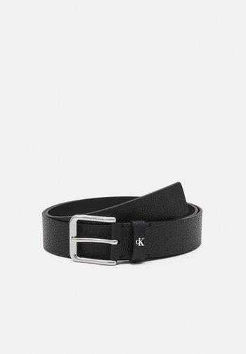 ROUNDED CLASSIC BELT - Pásek - black