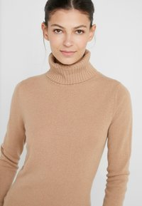 FTC Cashmere - ROLLNECK - Strickpullover - almond - 4