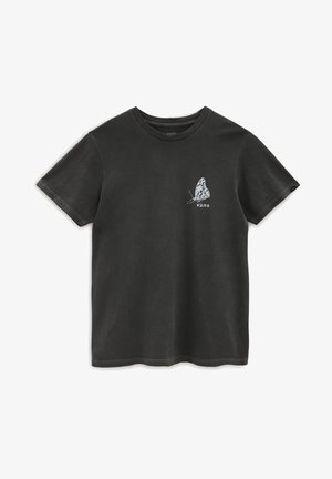 MN IN THE AIR SS - T-shirt med print - black