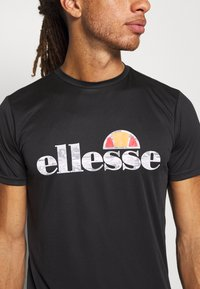 Ellesse - FABRETTI - T-shirt de sport - black - 4