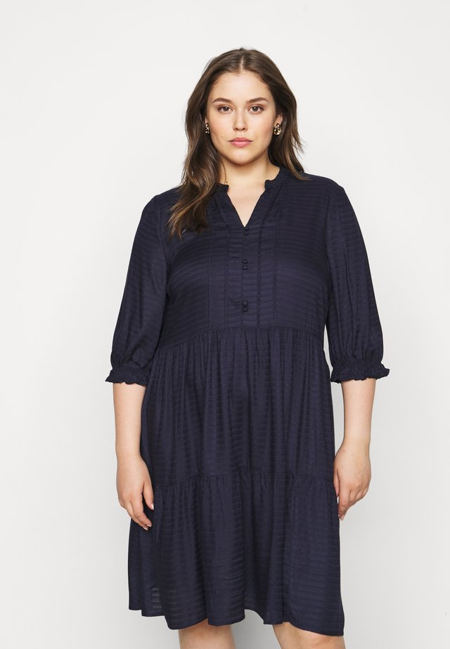 JRGESO KNEE DRESS  - Paitamekko - navy blazer