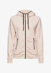 Esprit Sports - KAPUZEN - Zip-up hoodie - peach - 7