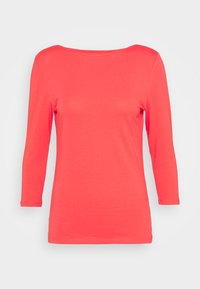 Marks & Spencer London - FITTED SLASH - Langarmshirt - red - 0