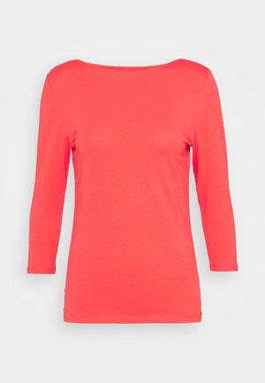 FITTED SLASH - Long sleeved top - red