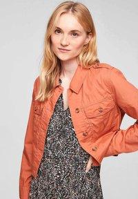 s.Oliver - Summer jacket - coral - 2