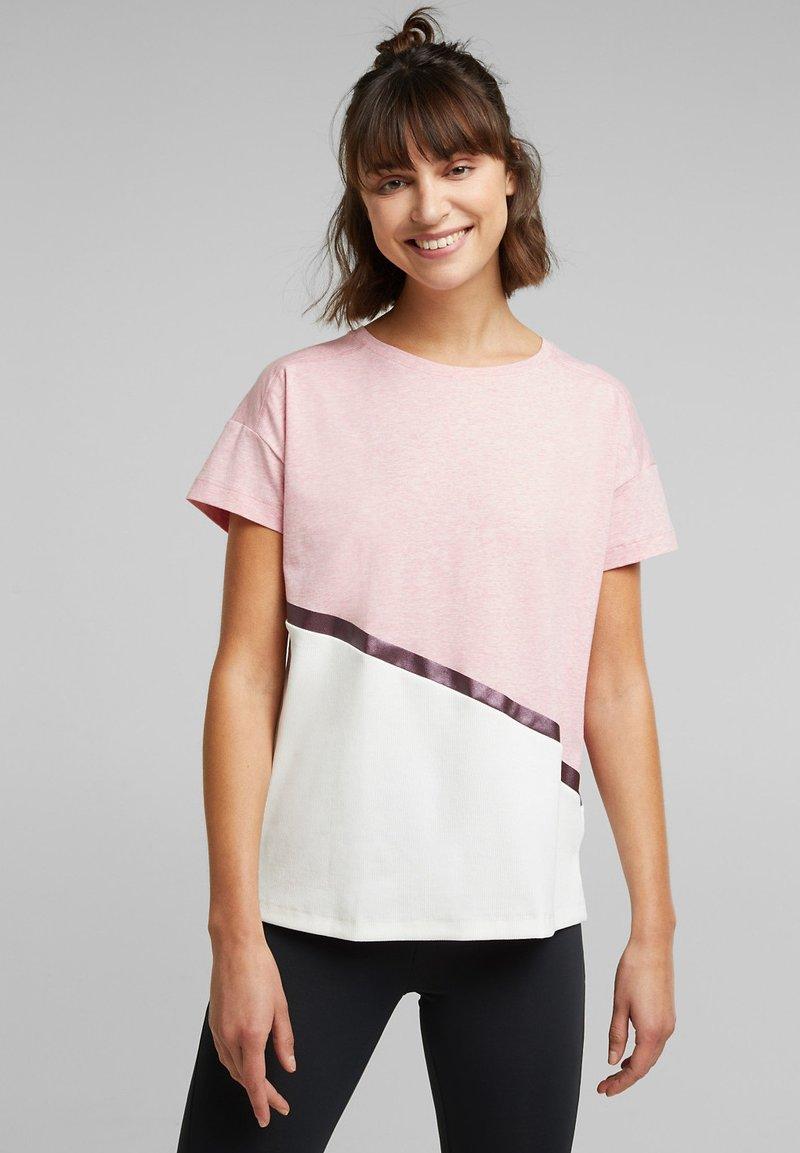 Esprit Sports - Print T-shirt - light pink