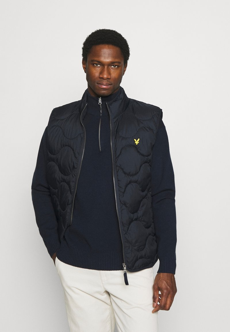 Lyle & Scott - WADDED GILET - Väst - dark navy