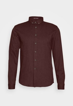 MOULINÉ STRETCH - Shirt -  bordeaux