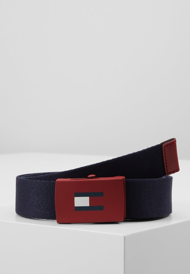 KIDS PLAQUE BELT - Belte - blue
