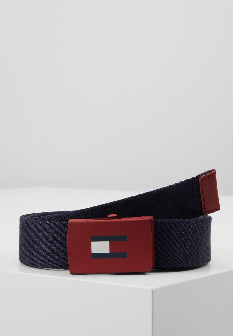Tommy Hilfiger - KIDS PLAQUE BELT - Belt - blue