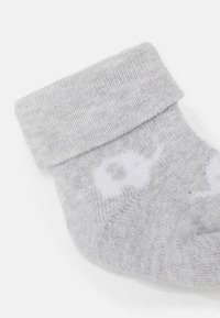 Ewers - NEWBORN SOCKS ELEPHANT 6 PACK - Socks - grau/latte - 2
