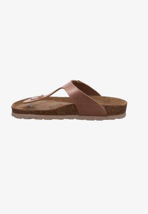 ALBA - T-bar sandals - lachs