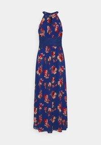 VIMILINA FLOWER DRESS - Occasion wear - mazarine blue