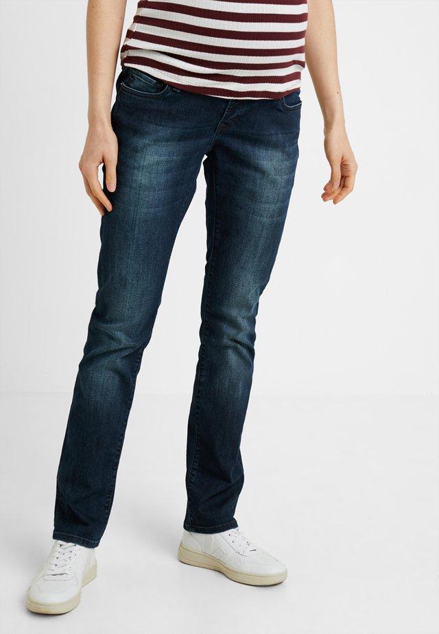 REGULAR BEAU  - Straight leg -farkut - midnight blue