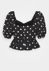 Fashion Union Petite - SINTA - Blouse - black/white - 1