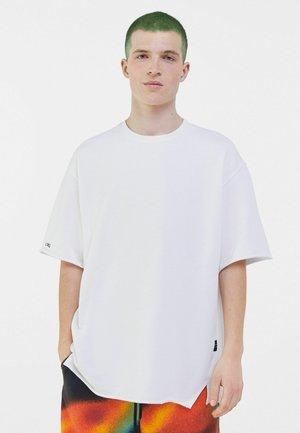 SHORT SLEEVE SWEAT - T-shirt basic - white