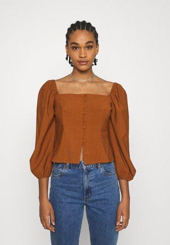 CHELSEA - Blouse - brown