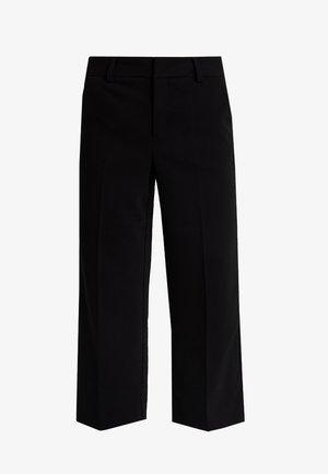 JOELLE CULOTTE - Kalhoty - black