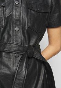 2nd Day - FRODEY - Košilové šaty - black - 7