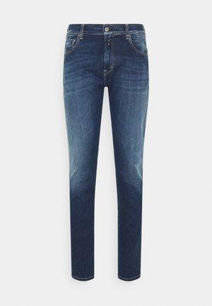 MICKY - Slim fit jeans - dark blue denim