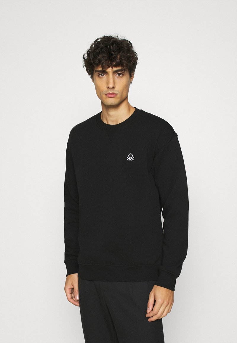 Benetton - CREW NECK - Felpa - black