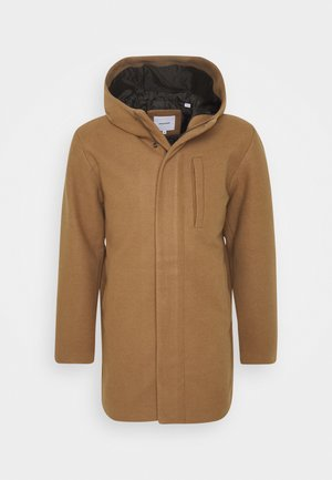 JJGEORGE HOODED COAT - Mantel - khaki