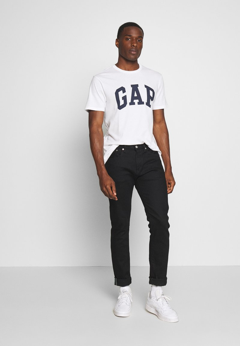 GAP - VBASIC ARCH 2 PACK - T-shirt z nadrukiem - blue/white