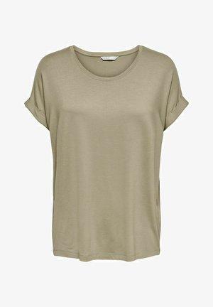 Basic T-shirt - silver mink