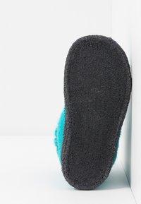 Bergstein - COZY - Domácí obuv - turquoise - 5