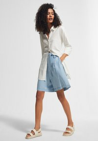 comma casual identity - Denim shorts - blue - 1
