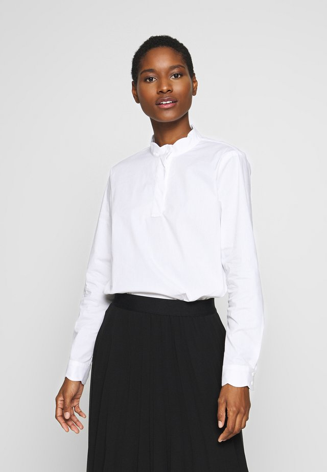 SCALLOP EDGE - Blouse - white